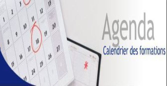 Calendrier des formations.